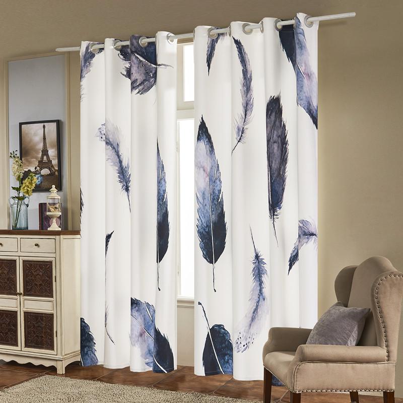Fassbel 2 Panel Set Digital Printed Window Curtains for ...